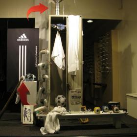 Etalage Adidas